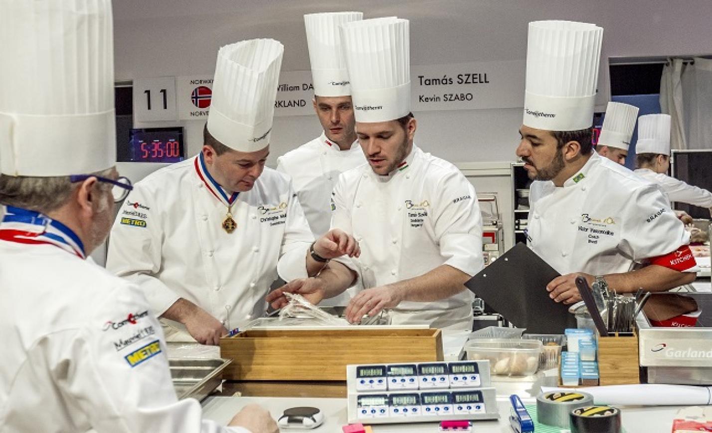 Bocuse d'Or: a magyar csapat kedden főz a lyoni döntőn