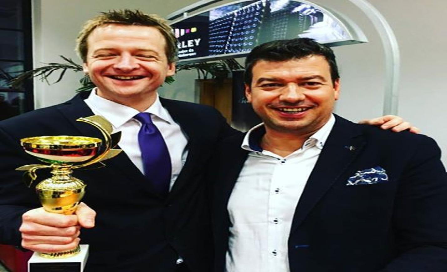 Tüü Péter 2017 sommelier bajnoka