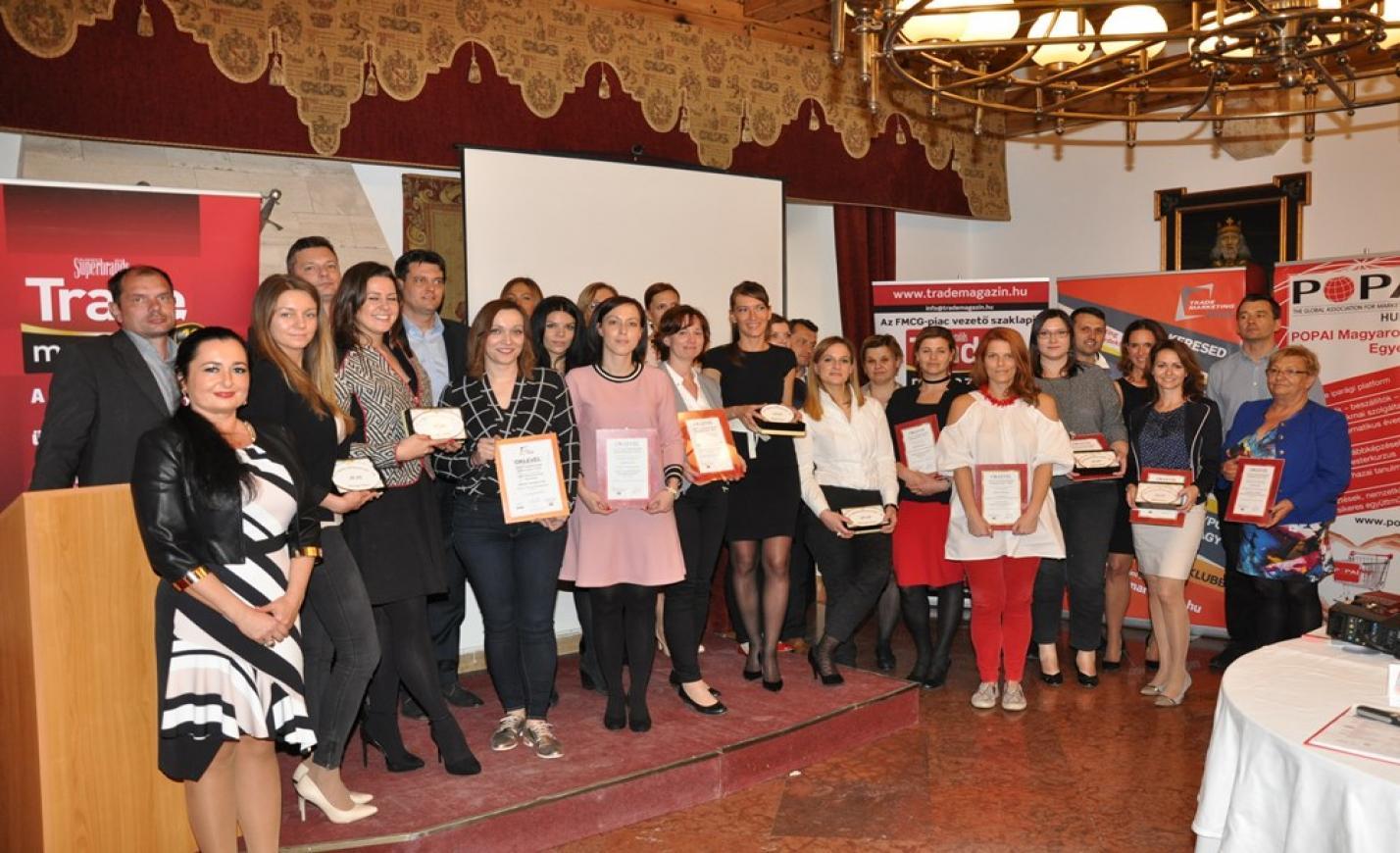 """Átadták """"Az év legsikeresebb promóciója 2016""""-díjakat"""