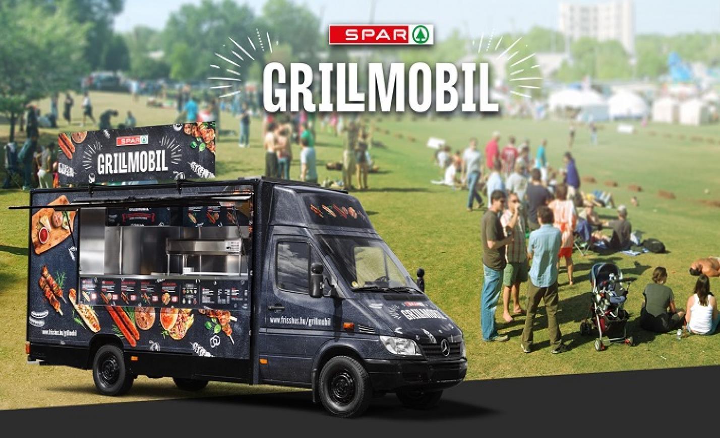 Idén is fesztiválozik a SPAR Grillmobil