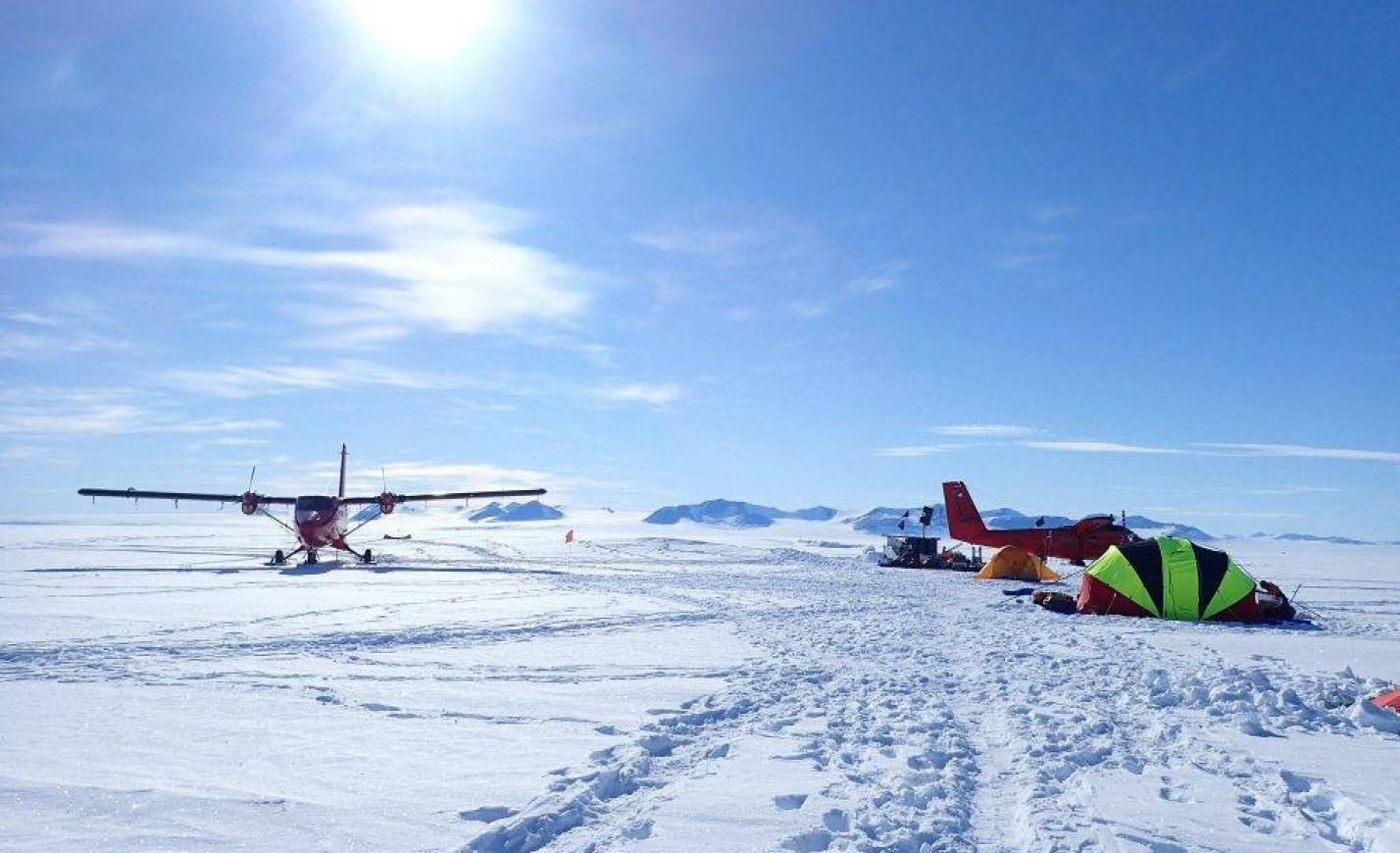 Magyar mérnököt evakuáltak az Antarktiszról