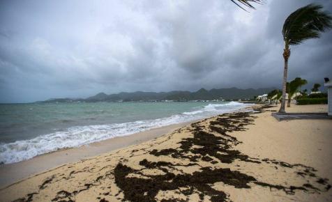 Az Irma olyan erős, hogy még az óceánt is elfújta