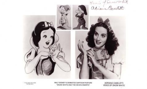 A Disney tette tönkre a Hófehérke hangját kölcsönző színésznő karrierjét