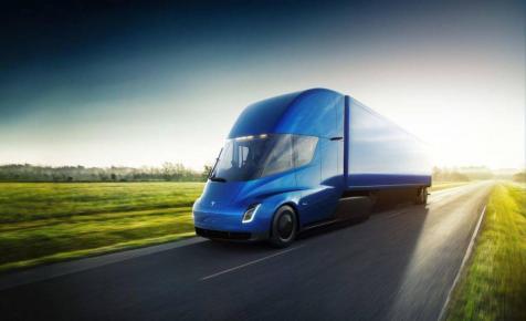 A neves futárcég is a Tesla kamionjai mellett tette le a voksát
