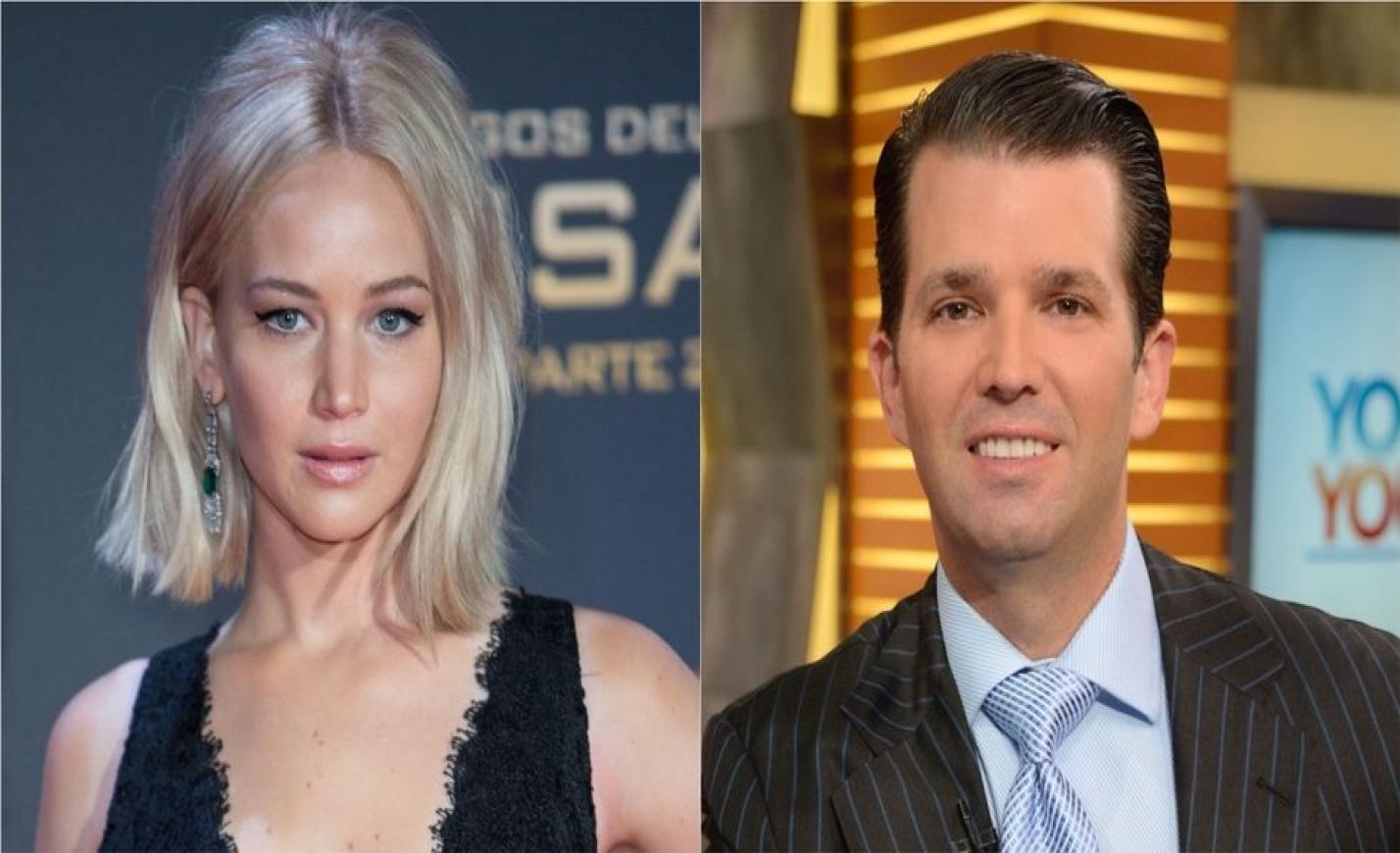 Donald Trump fia megfenyegette Jennifer Lawrence-t?