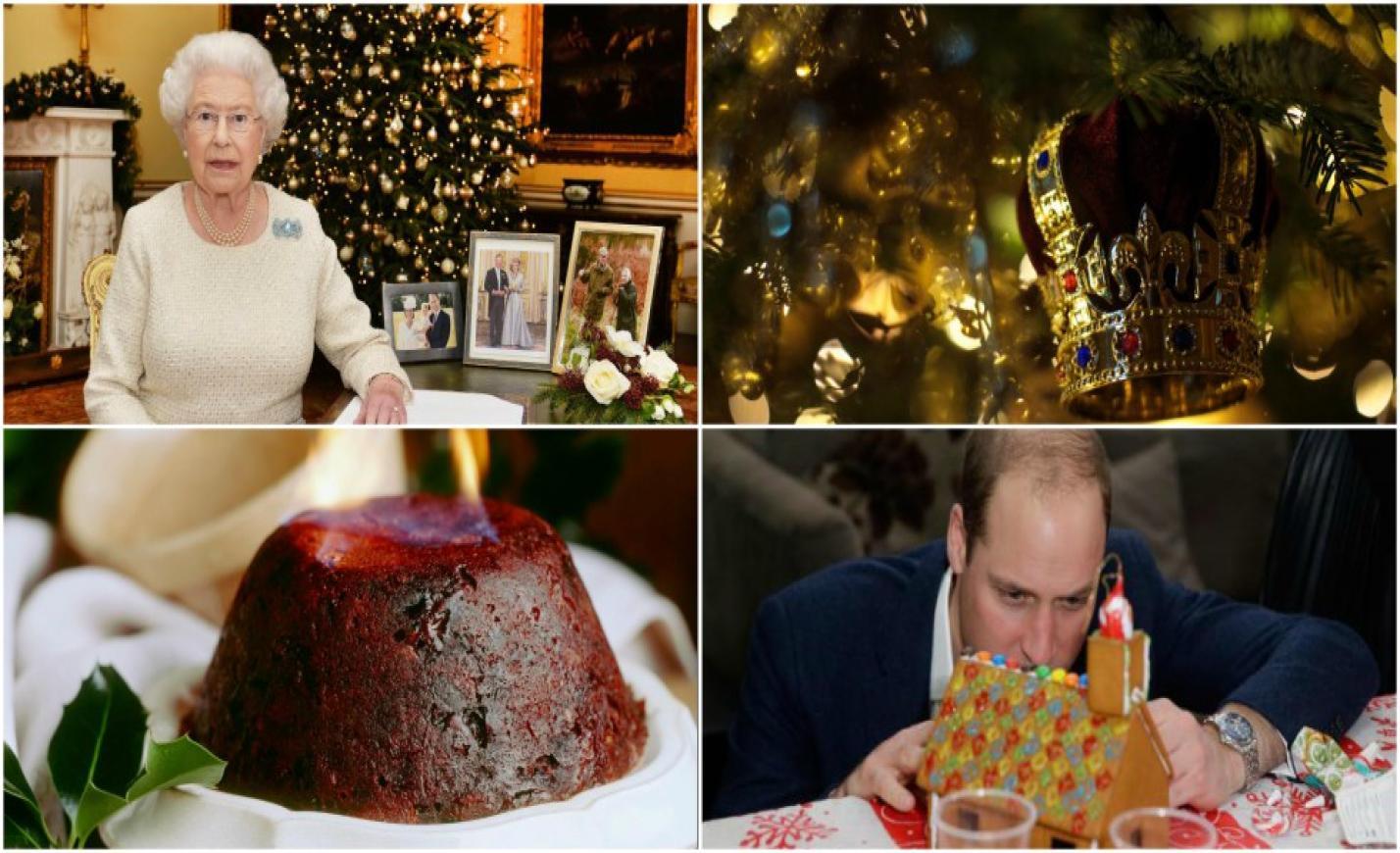 Így néz ki a Buckingham-palota karácsonykor