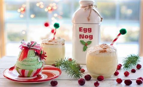 Karácsony, szilveszter házi tojáslikőrrel