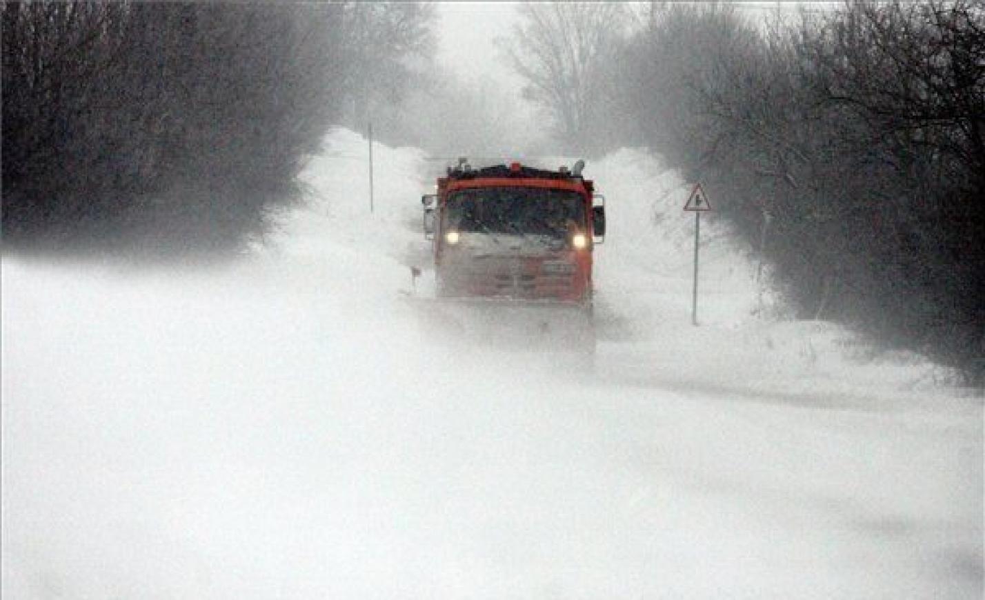 Hóátfúvás: Vas megye elesett