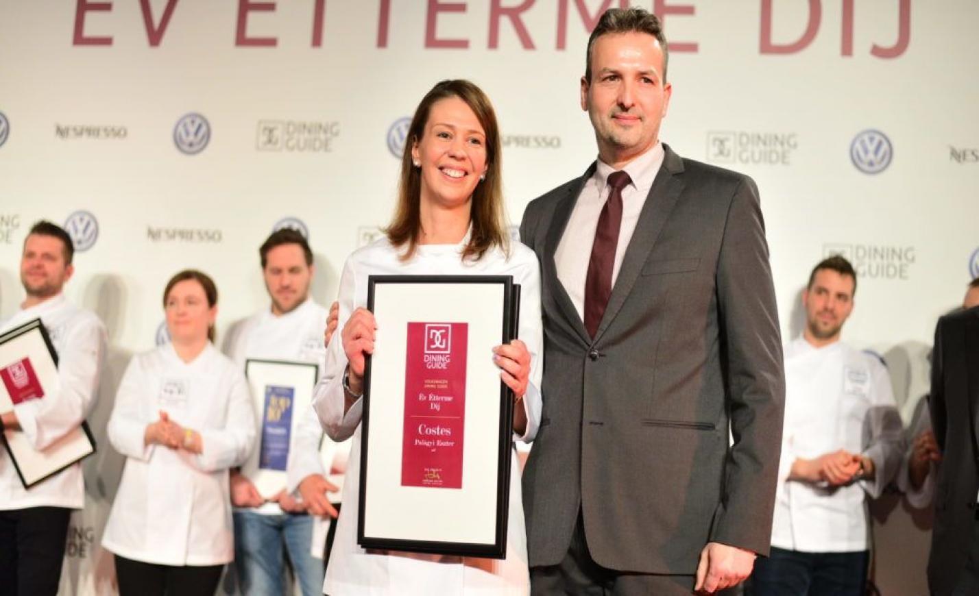 Második éve, hogy nő viszi az ország legjobb éttermét