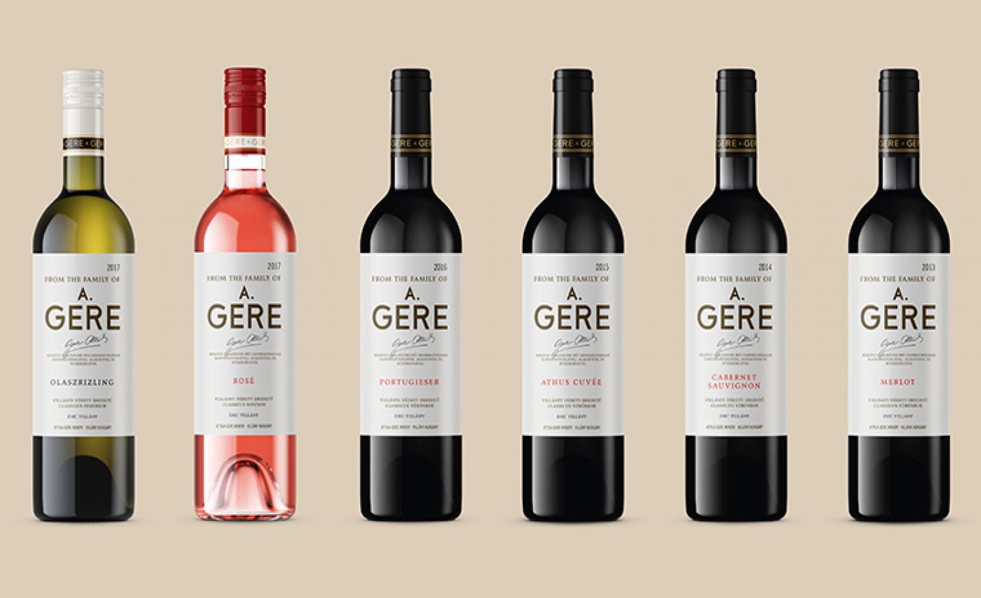 Figyelj, ha a boltban jársz: más nevet kaptak a Gere borok