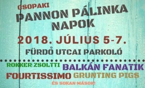 Csopaki Fröccsöntő és Pálinka Napok 2018