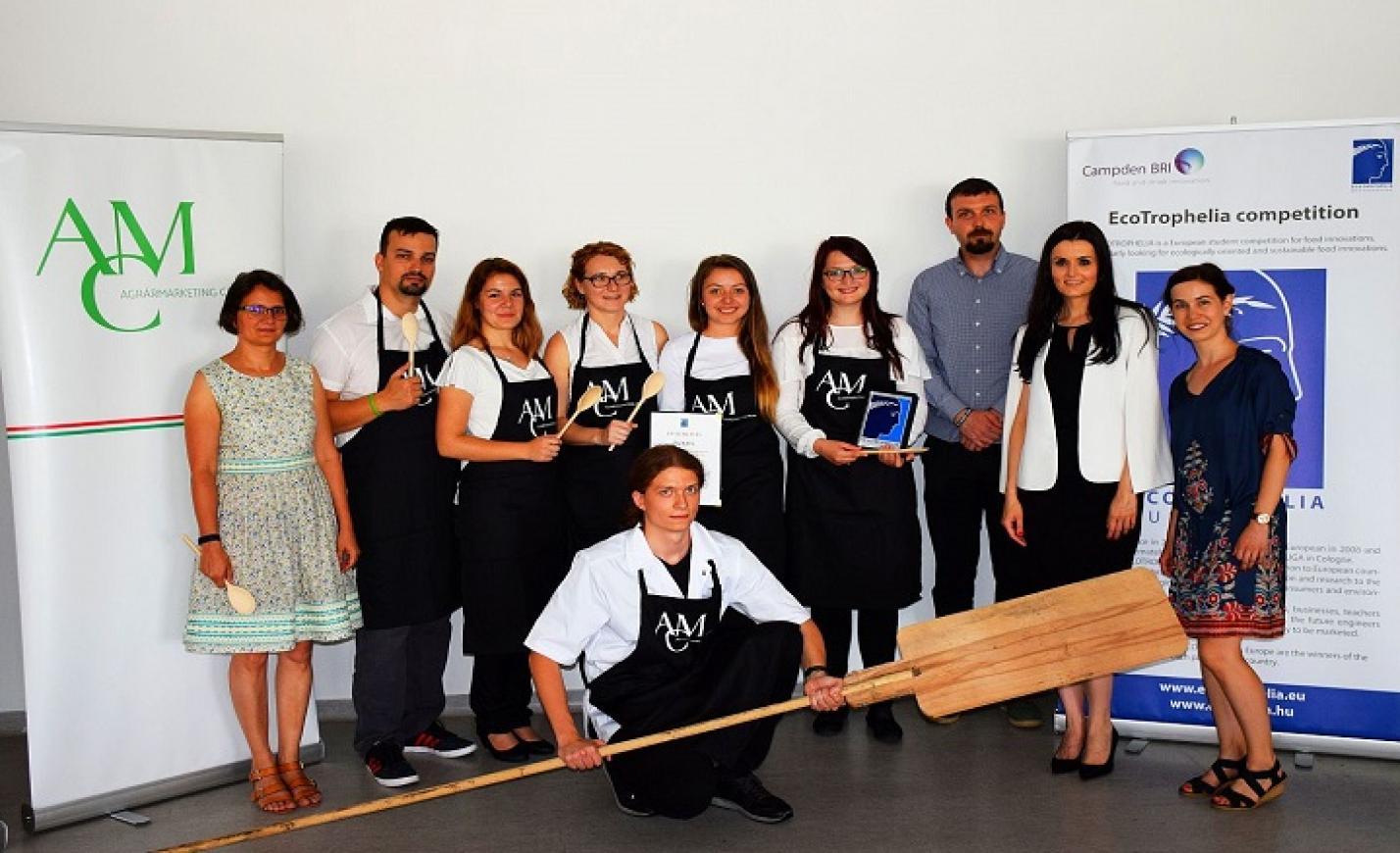 Külhoni magyar egyetem diákjainak élelmiszeripari fejlesztése nyert az Ecotrophilián