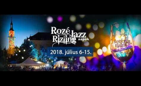 Mindent az idei Rozé, Rizling és Jazz Napokról