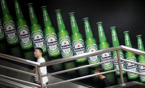 Nem a vörös csillag, hanem az árfolyam és a drága reklámok tettek be a Heinekennek