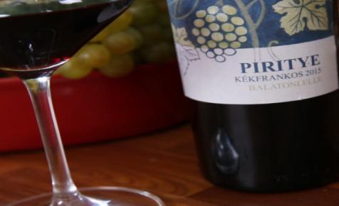 7 nap, 7 borász, 7 boros recept - Kóstold meg a Piritye Kékfrankost!