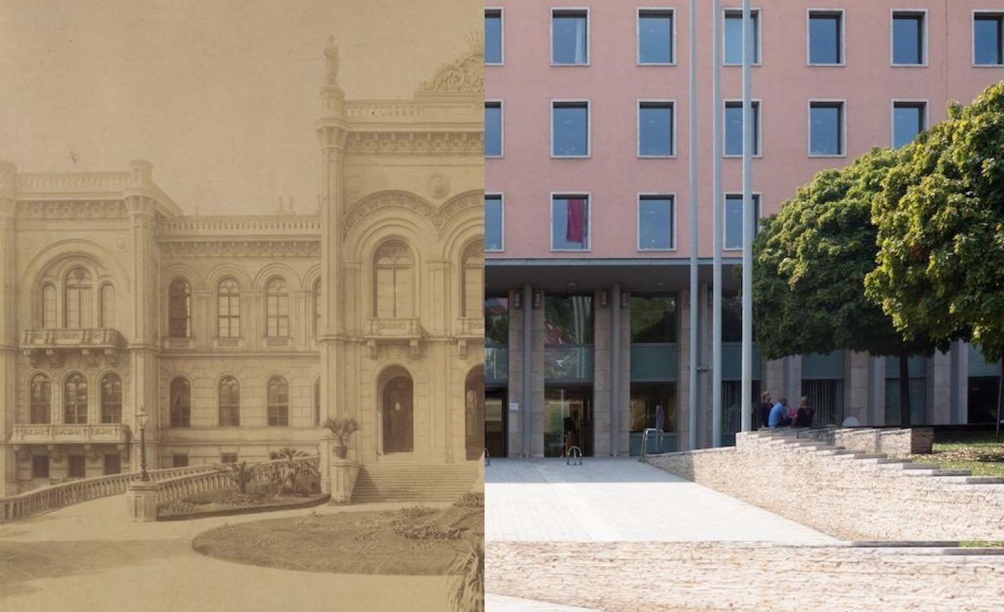A Déli pályaudvar mögött állt egykor a főváros legnagyobb magánpalotája