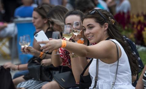 Ezekért a pezsgőkért érdemes volt ellátogatni a Borfesztiválra