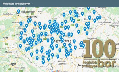 Nézd meg a térképen, mennyire vagy közel hozzád a 100 legjobb magyar bor!