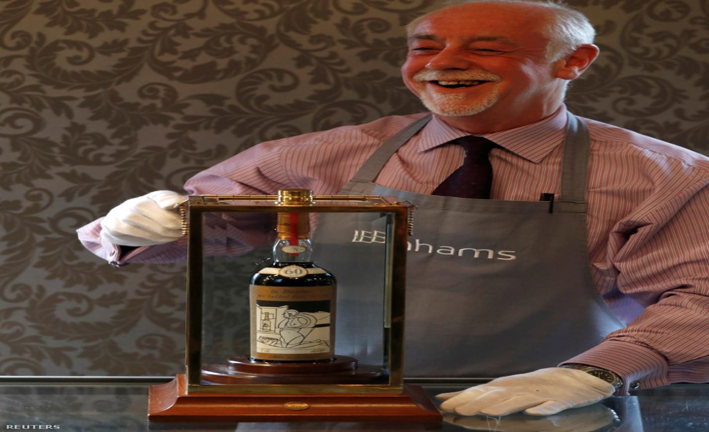 Új whiskyrekord a Bonhams árverésén