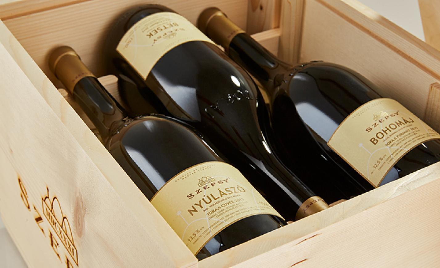 Ebből a boros karácsonyi ajándékból 18 van az egész világon, de az egyik a tiéd lehet