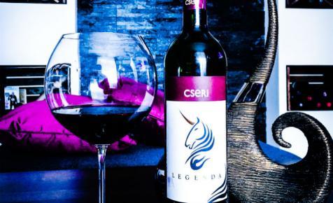 Minden napra egy vörösbor: Cseri Pincészet, Legenda