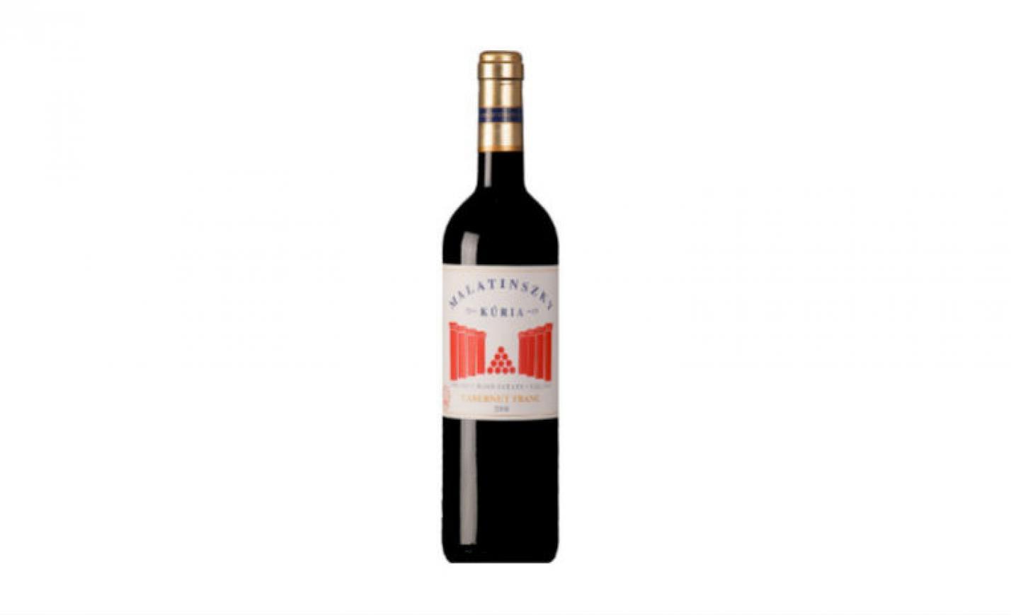 Minden napra egy vörösbor: Malatinszky Kúria Cabernet Franc 2008