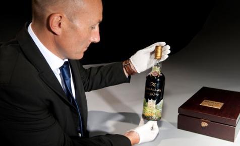 Valakinek már megvan a karácsonyi ajándéka - 432 milliós whisky