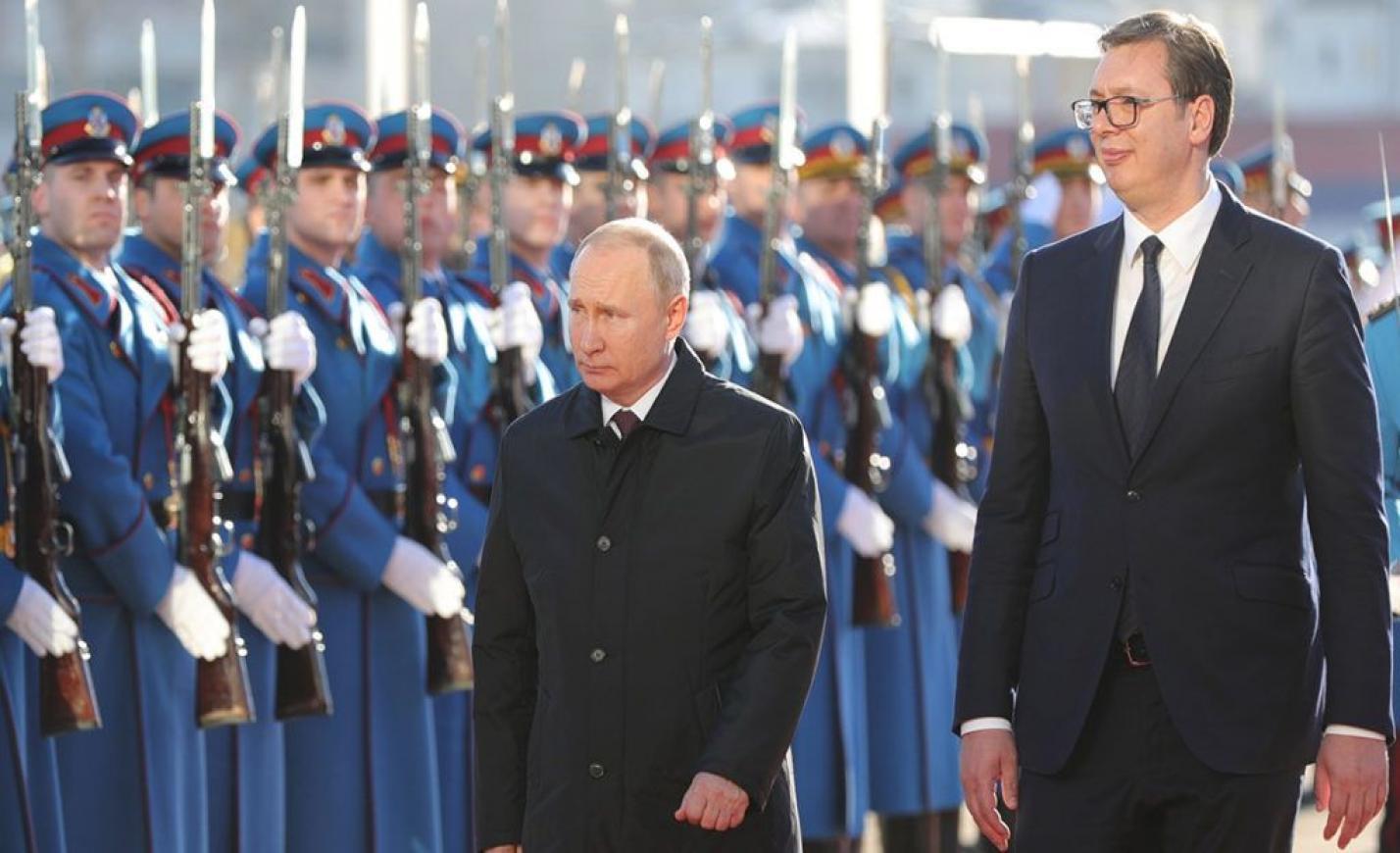 Túltolták Putyin dicsőítését: dalra fakadt a szerb miniszter