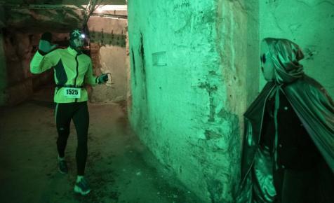 Ufók társaságában futottak a kőbányai pincerendszerben