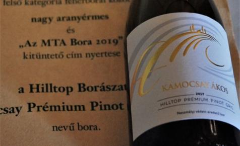 A legjobb fehérbor az MTA Borai között Kamocsay Ákosé