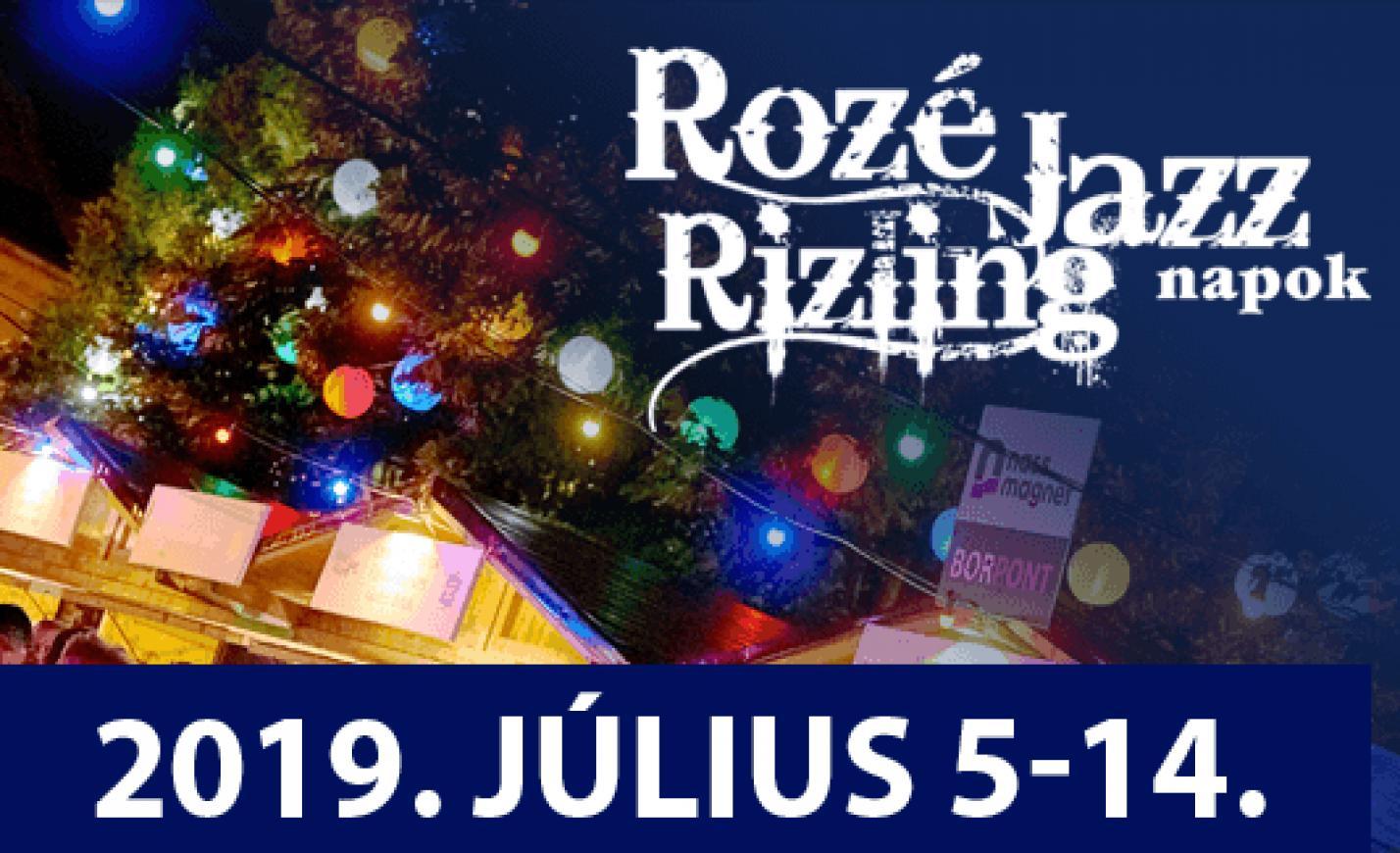 Harminc koncert és harminc borász a Rozé Rizling Jazz Napokon júliusban Veszprémben
