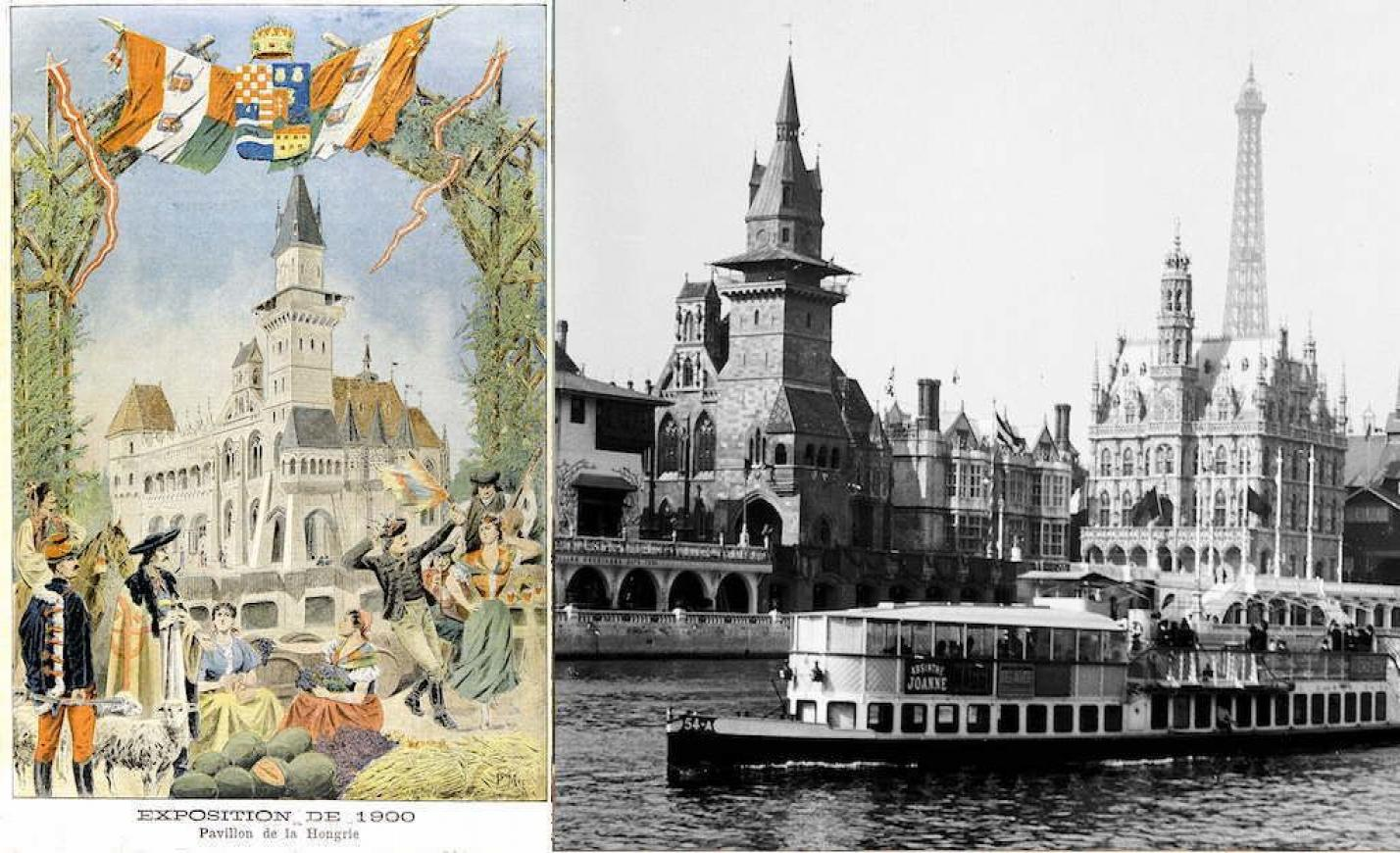 Nemcsak a Városligetben, de Párizsban is állt egy Vajdahunyad-vár