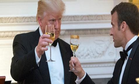 A Google-adó és a borok vethetnek véget Trump és Macron brománcának