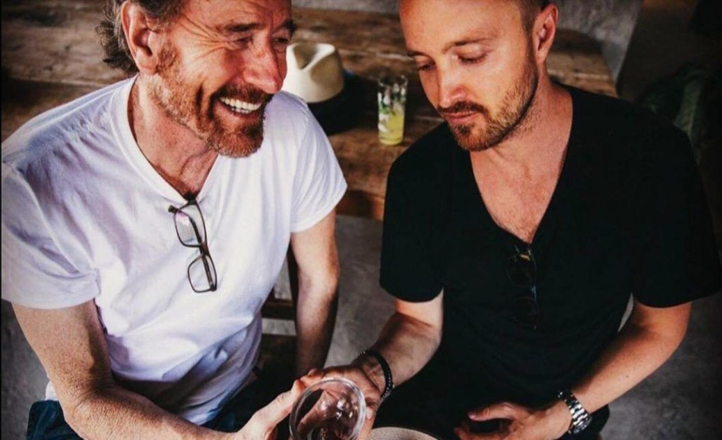 Bryan Cranston és Aaron Paul közös italmárkát dobtak piacra