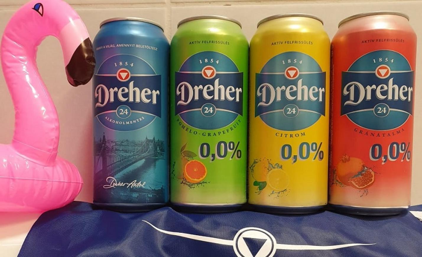 Dreher 24 - három új ízben!