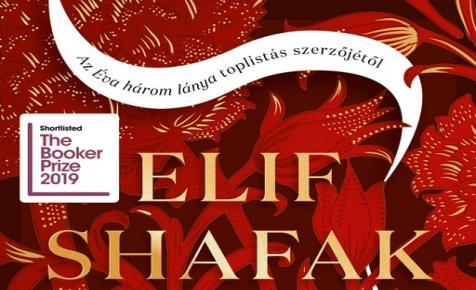Itt a népszerű kortárs török írónő Booker-díjra jelölt új regénye