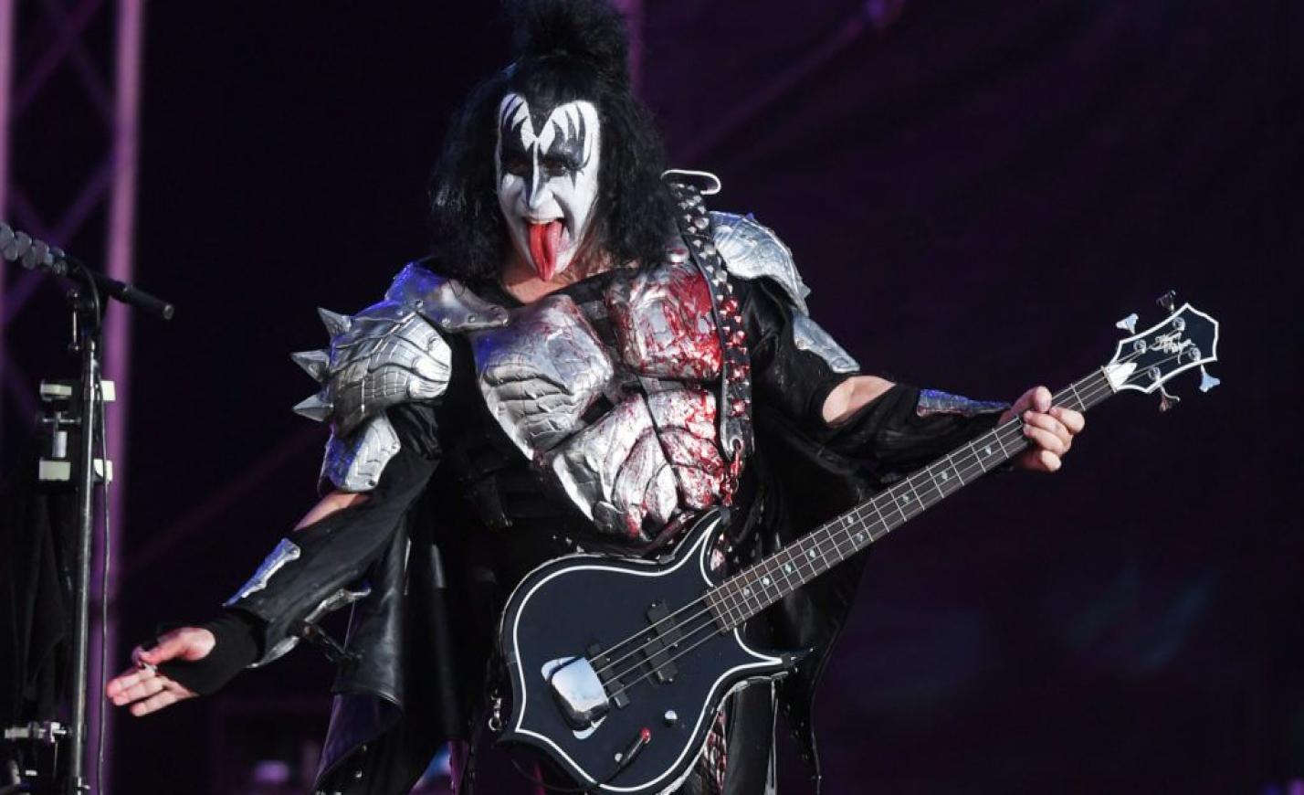 A Kiss frontemberének müzlije sokkolta az internetet