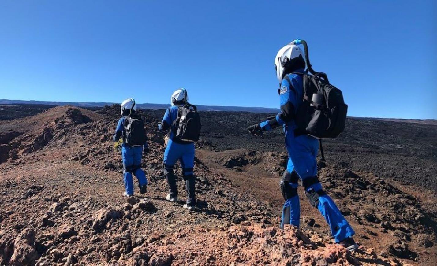 Visszatért a Marsról az analóg női űrhajóscsapat