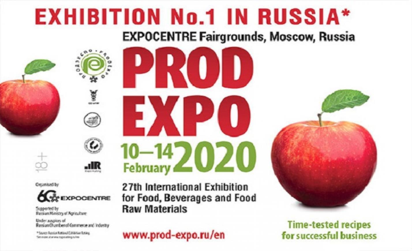 AMC: nyolc magyar élelmiszeripari cég mutatkozik be az orosz PRODEXPO kiállításon