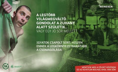 Heineken fenntartható fejlődés - plakátkiállítás