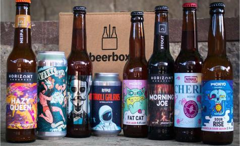 A Beerbox is rámegy a házhozszállításra – Beerbox Home