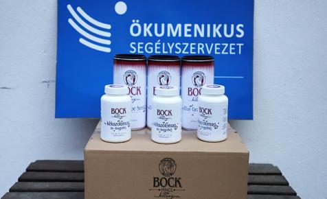 A Bock Borászat adománnyal segít a bajban