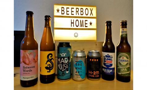 Teszteltem a Beerbox Home IPA menüjét!