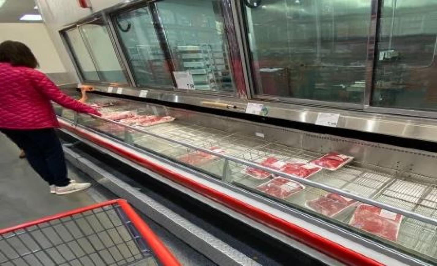 Húshiány és antitest tesztelés az USA boltokban