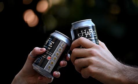 A magyar jótékony sör csapata idén is eladakozta teljes profitját