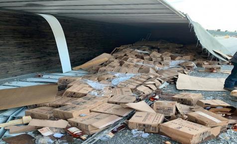Több ezer üveg whisky ömlött ki az útra Missouriban
