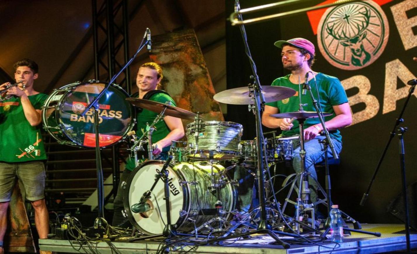 Jägermeister Brass Band premier
