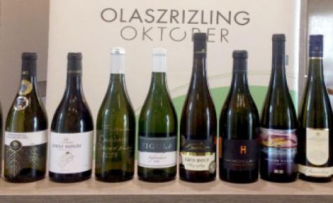 Olaszrizling Október Nagykóstoló nyolcvan termelő boraival