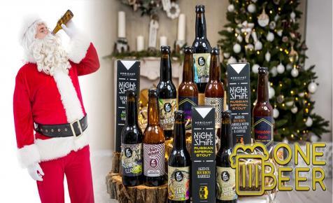 Menő sörcsomagokkal készült a One Beer idén Karácsonyra