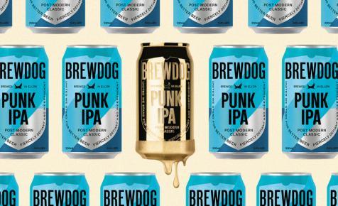 Tízen megnyerhetik: BrewDog Punk IPA arany sörösdobozban – A nap képe